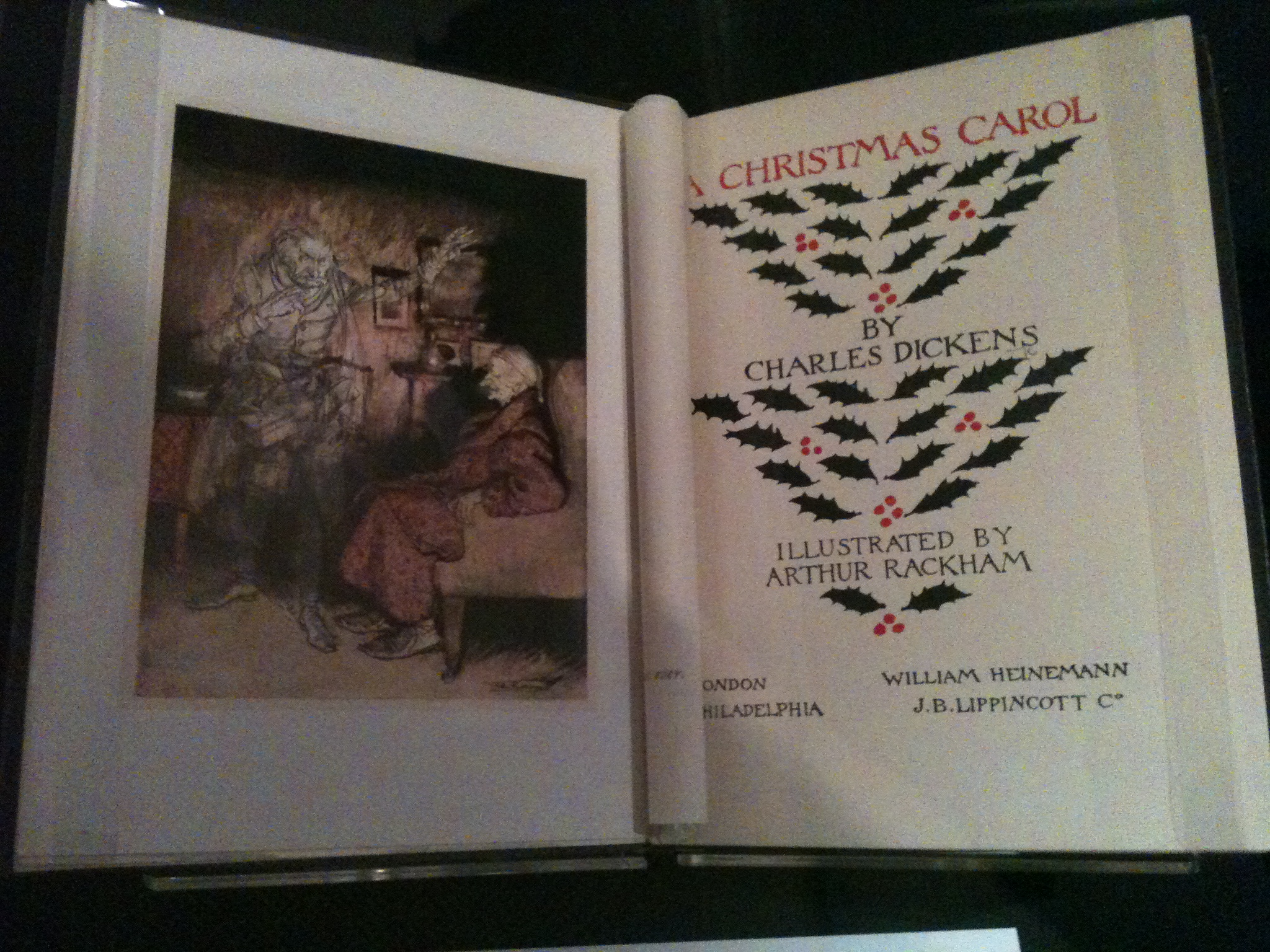 A Christmas Carol, illustrated by Arthur Rackham
