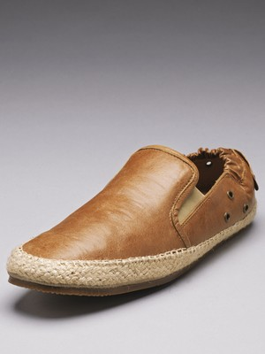 H by Hudson Inca leather espadrille