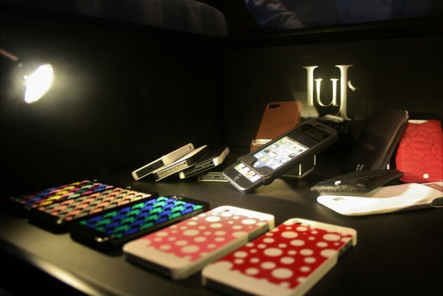 Mischa Barton releases her own iPhone 5 accessories at the Uunique London press day