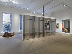 View of gallery featuring La Gabbia (1967-1974).
