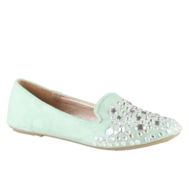 ALDO Lilybeth Shoe in Light Green