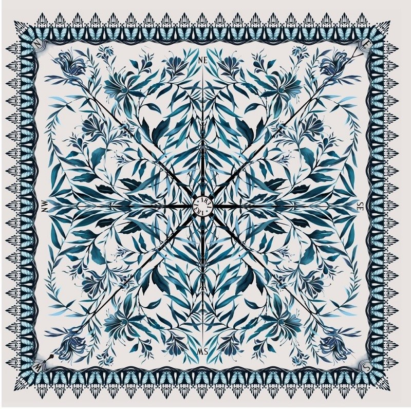 Temperley for Twinings Scarf