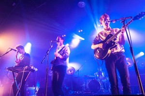 Indie band Theme Park perform at Heaven night club as part of their European tour