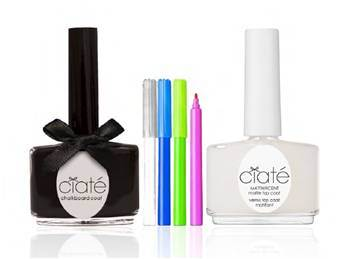Ciaté take us back to school with chalkboard nails (1)