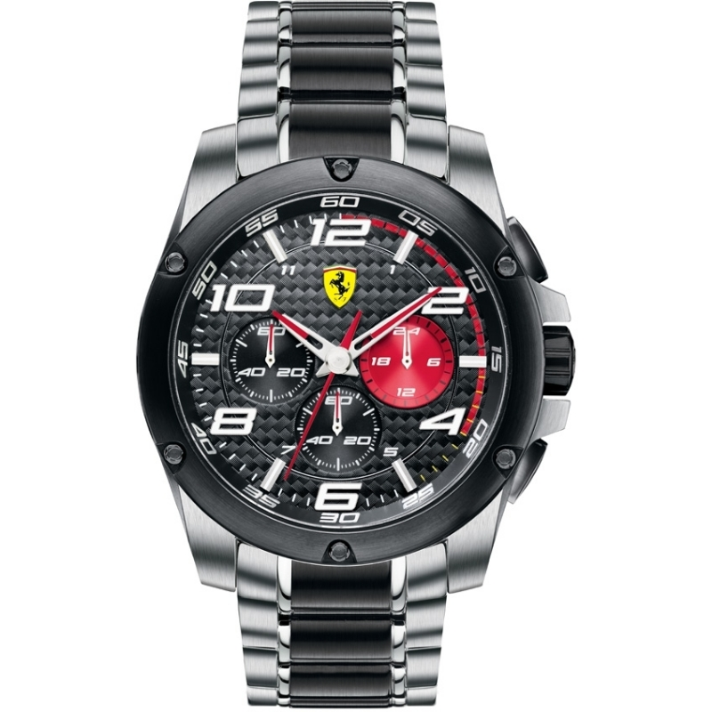 sports dial black watches ferrari men fxx watch s