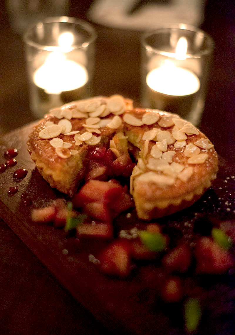 Perfect Christmas recipe Mulled Pear and Almond Tart from Picture chefs - Daniela Valla - The Upcoming- 1