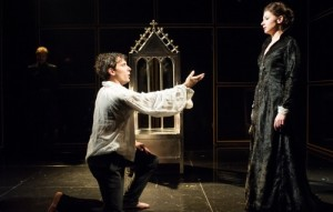 Nick Barber and Frances McNamee in Punishment Without Revenge. Photo by Jane Hobson