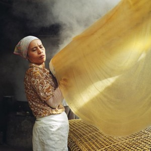 Winner - Pink Lady® Food Photographer of the Year 2014  Tessa Bunney (Lao PDR) – Noodle Making