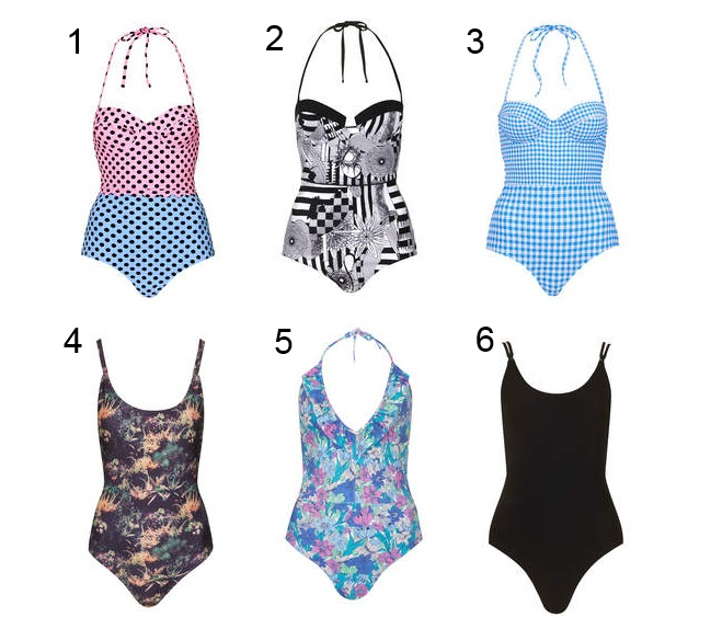 topshop swimsuits