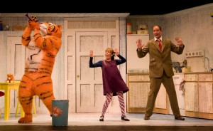 The Tiger Who - actors Abbey Norman and Matthew Dudley