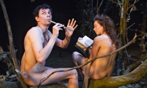 Tom Mothersdale and Melody Grove in In Lambeth at Southwark Playhouse