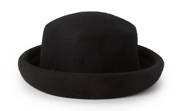 Forever 21 felted wool bowler hat