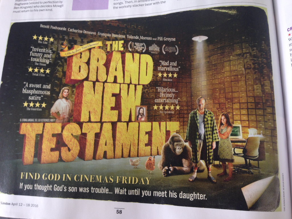 timeout 12 april 2016  the brand new testament quote IMG_5706
