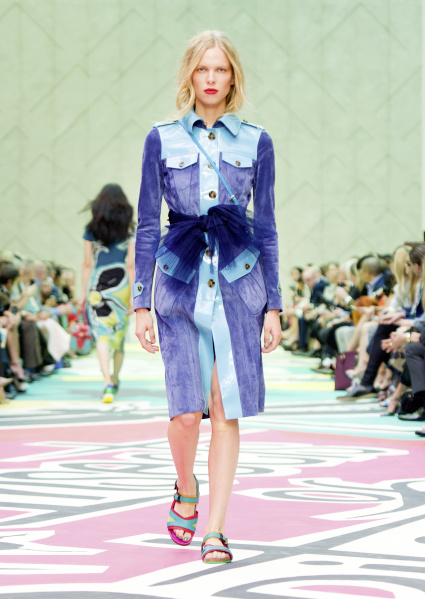 Burberry Prorsum Womenswear Spring Summer 2015 Collection - Look 27