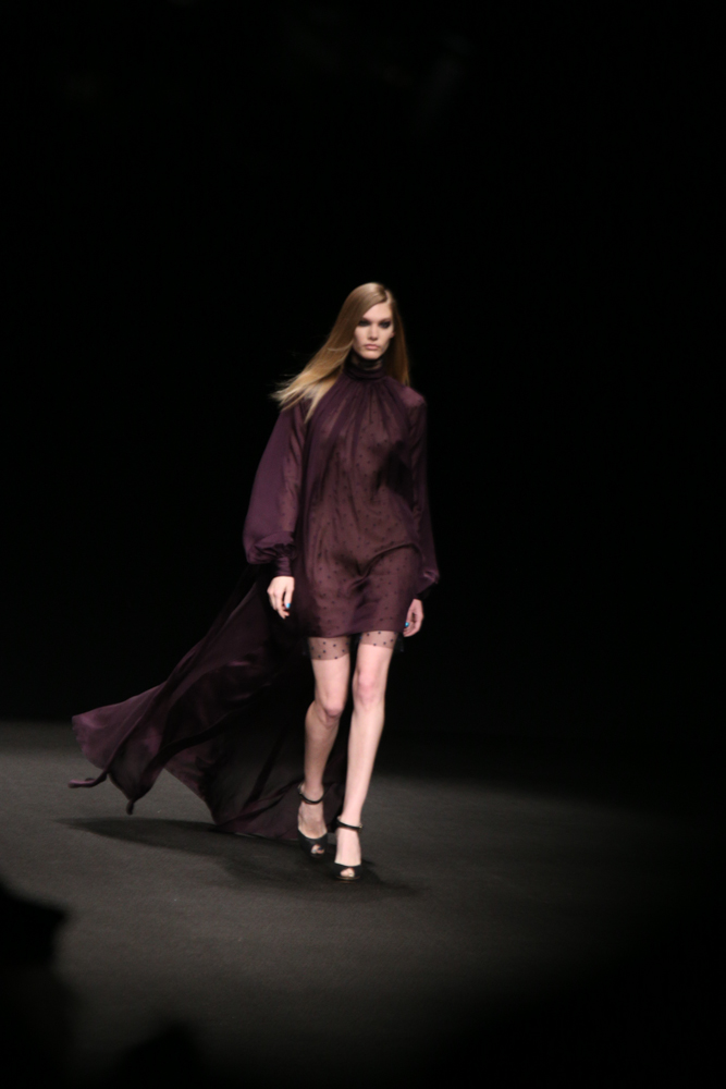 NYFW AW15-MONIQUE LHULLIER -DOMINIQUE PETTWAY-THE UPCOMING-3