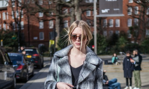 LFW AW15 - Street Style day five - Megan Redden - The Upcoming - Abi