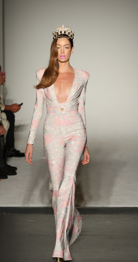 NYFW SS16-Michael Costello-Dominique Pettway- The Upcoming-25