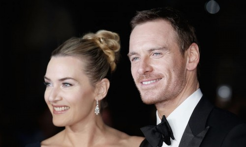 "LONDON, ENGLAND - OCTOBER 18:  Kate Winslet and Michael Fassbender attend the ""Steve Jobs"" Closing Night Gala during the BFI London Film Festival, at Odeon Leicester Square on October 18, 2015 in London, England.  (Photo by John Phillips/Getty Images for BFI) *** Local Caption *** Kate Winslet; Michael Fassbender"