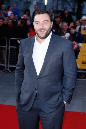 LONDON, ENGLAND - OCTOBER 10:  Denis Menochet attends the 'The Program' screening, during the BFI London Film Festival, at Vue Leicester Square on October 10, 2015 in London, England.  (Photo by John Phillips/Getty Images for BFI) *** Local Caption *** Denis Menochet