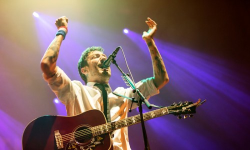 FRANK TURNER at Alexandra Palace - GuifrePeray - The Upcoming - 01