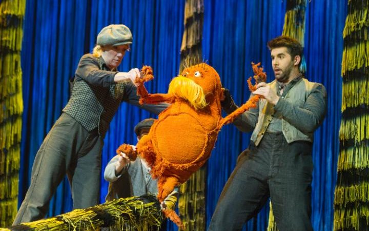 Dr Suess S The Lorax At The Old Vic Theatre Review The