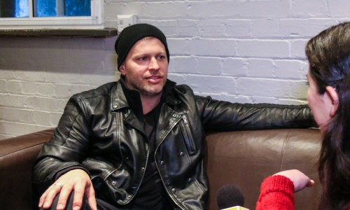 Three Days Grace at The Forum - Interview Brad Walst - The Upcoming -3