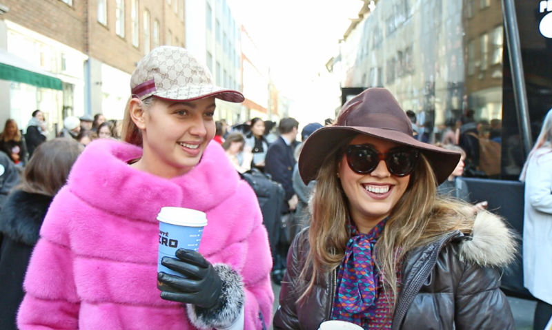 London Fashion Week Street Style Interviews Day One A W