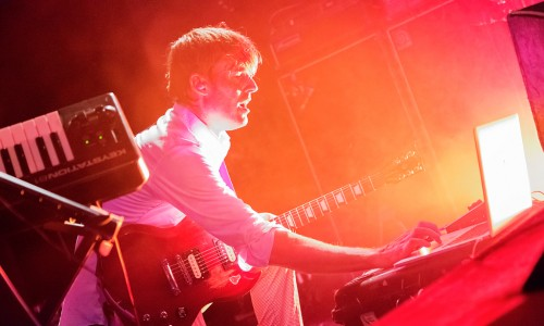 BATTLES at ELECTRIC BRIXTON - Guifré de Peray - The Upcoming - 02