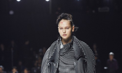 PFW AW16 - Issey Miyake backstage - Ambra Vernuccio - The Upcoming - 5