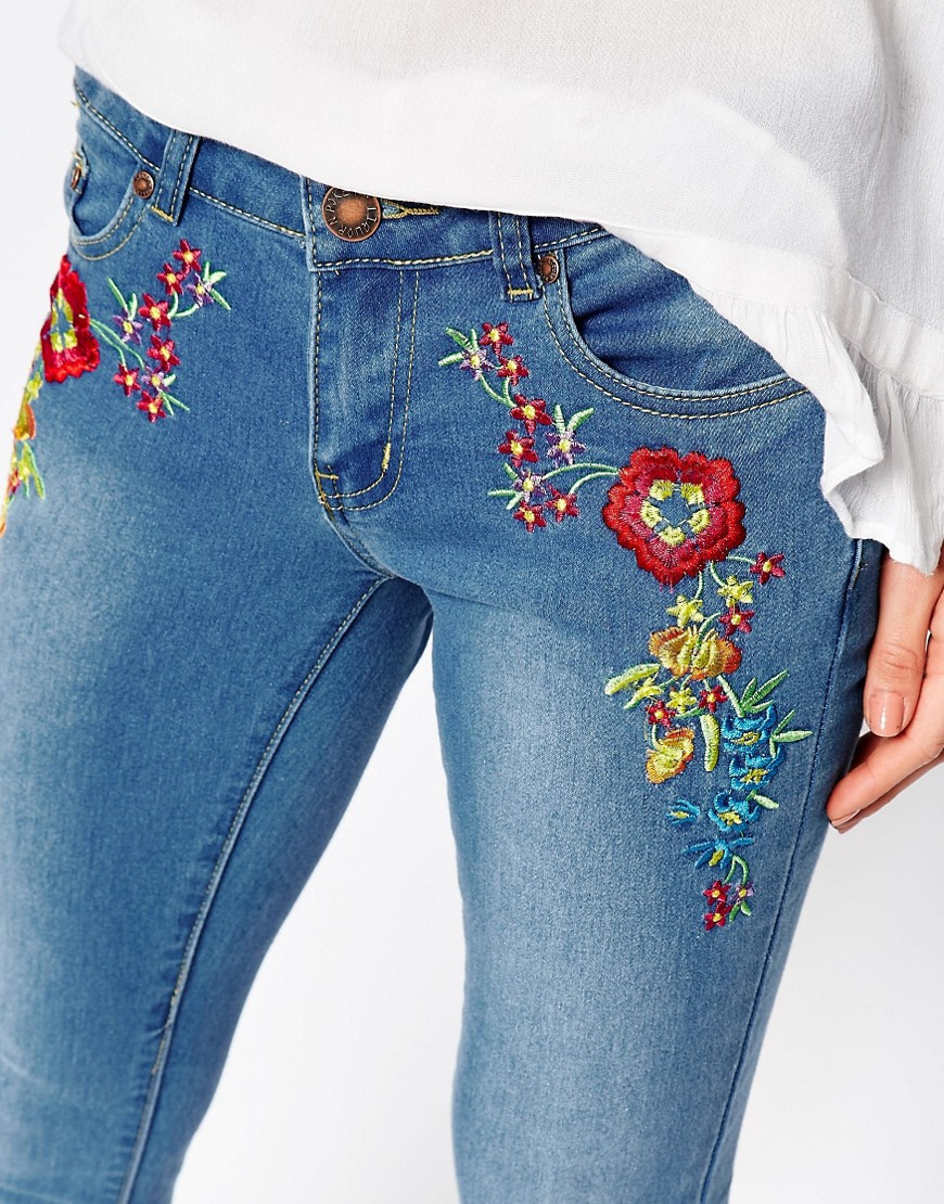 4. Embroidered