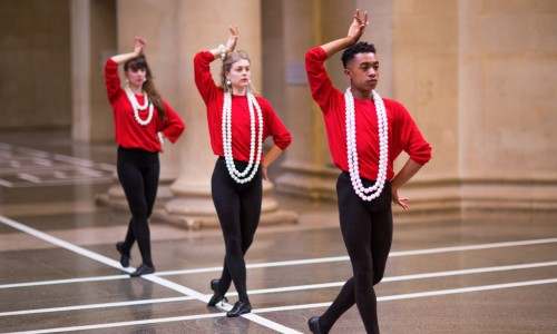 Pablo Bronstein s Trio Dance at  Tate Britain
