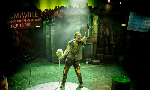 The Toxic Avanger musical - Southwark Playhouse 3