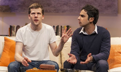 the spoils london trafalgar studios jesse eisenberg