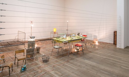 Mona Hatoum at the  Tate Modern