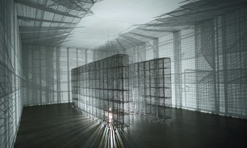 Mona_Hatoum_Light Sentence