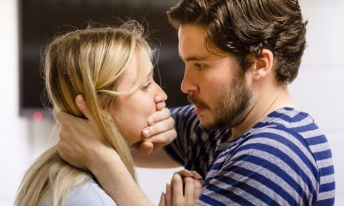 Daniel Portman and Lily Loveless rehearsing for the Collector (c) Scott Rylander (2)