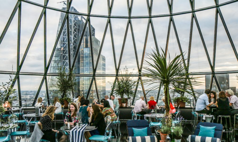 Summer Sky Riviera at the Gherkin - Filippo LAstorina - The Upcoming -2