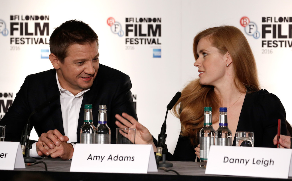 'Arrival' - Press Conference - 60th BFI London Film Festival