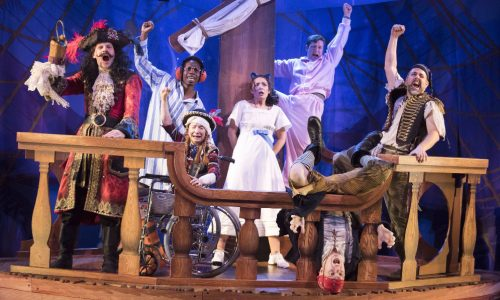 'Peter Pan Goes Wrong' Play performed at the Apollo Theatre