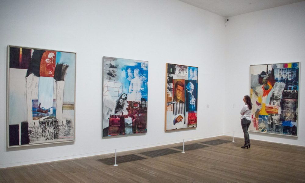 Robert Rauschenberg at The Tate Modern