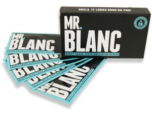 Mr Blanc Teeth Whitening Strips