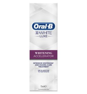 Oral B 3D White Luxe Whitening Accelerator