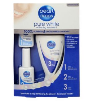 Pearl Drops Pure White Whitening Kit