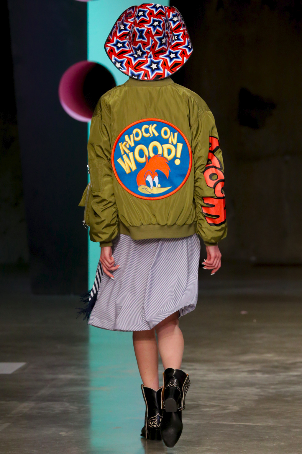 LFW AW17 - House Of Holland - Kimberley Archer - The Upcoming-14