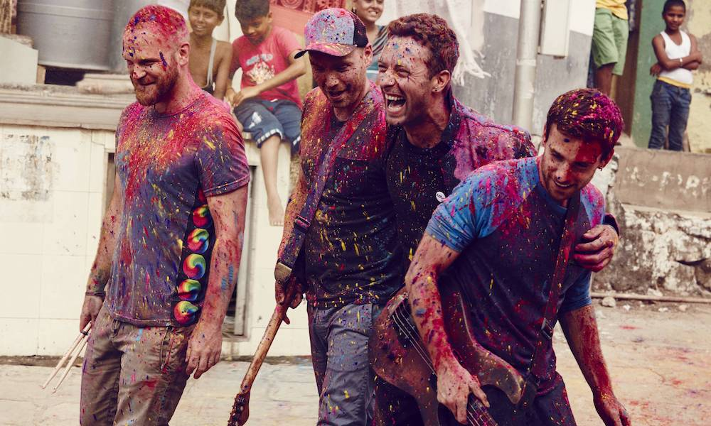 Coldplay release new track 'Hypnotised' and announce new EP
