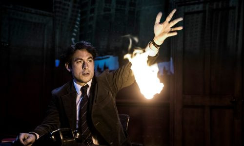 Chris New (Daniel Quinn) Paul Auster's City of Glass by 59 Productions and Lyric Hammersmith. Photo by Jonathan Keenan (2)