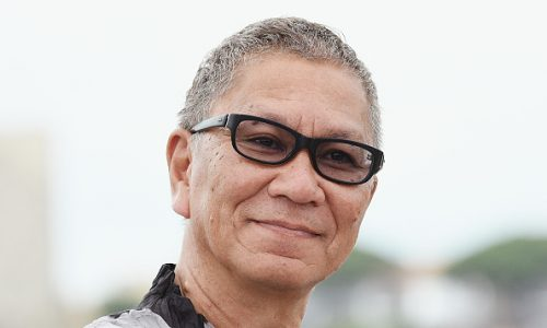 "CANNES, FRANCE - MAY 18:  Takashi Miike attends the ""Blade Of The Immortal (Mugen No Junin)"" photocall during the 70th annual Cannes Film Festival at Palais des Festivals on May 18, 2017 in Cannes, France.  (Photo by Dominique Charriau/WireImage)"