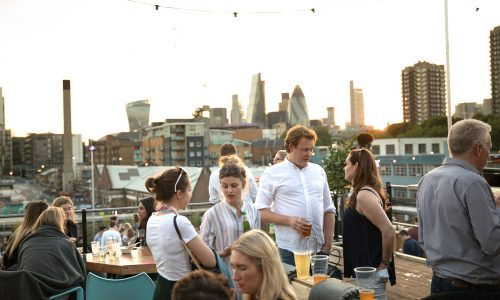 Skylight rooftop at Tobacco Docks - Filippo L'Astorina - The Upcoming -5 featured
